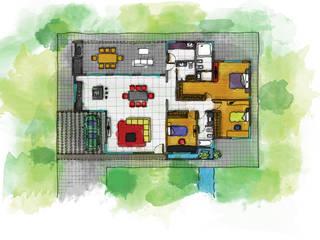 Casa Lumar3: Casas unifamiliares de estilo  por Luis Barberis Arquitectos