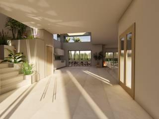 Corridor & hallway by Luis Barberis Arquitectos, Modern