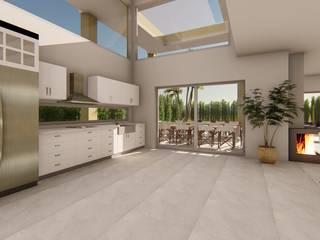 Built-in kitchens by Luis Barberis Arquitectos, Modern