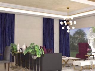 Jardines de Versalles Salones modernos de Contempo Deco Moderno