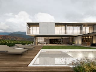 Casa Terralta de OTRA ARQUITECTURA S.C. Moderno