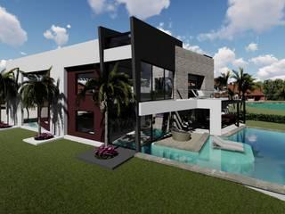 Casa unifamiliare in stile  di Luis Barberis Arquitectos