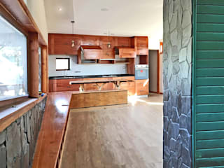Interiores Livings de estilo rústico de Intermedio Arquitectos Rústico