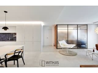 WITHJIS(위드지스) Modern living room Aluminium/Zinc Grey