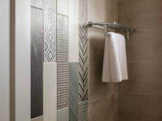 Baños modernos de 富亞室內裝修設計工程有限公司 Moderno Azulejos