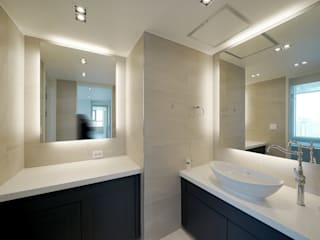 Baños de estilo  por 디자인 아버, Moderno