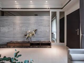 SING萬寶隆空間設計 Ruang Keluarga Klasik
