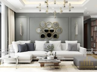 Thiết kế nội thất chung cư Season Avenue - anh Hải bởi Thiết kế - Nội thất - Dominer
