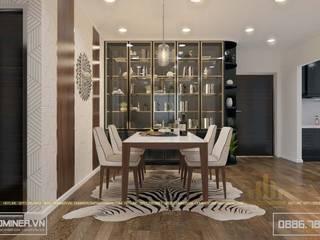 Thiết kế nội thất chung cư GoldenField - anh Huỳnh bởi Thiết kế - Nội thất - Dominer