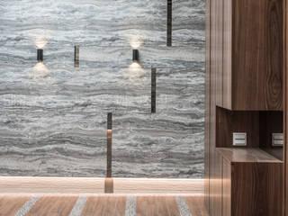 SING萬寶隆空間設計 Dinding & Lantai Gaya Klasik