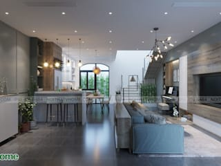 Công ty CP tư vấn thiết kế và xây dựng V-Home Living roomAccessories & decoration