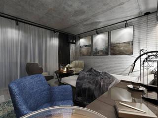 Small bedroom by Студия Aрхитектуры и Дизайна 'Aleksey Marinin'