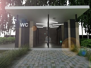 توسط Студия Aрхитектуры и Дизайна 'Aleksey Marinin' اکلکتیک (ادغامی)