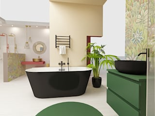 Smile Bath S.A. Modern bathroom Green