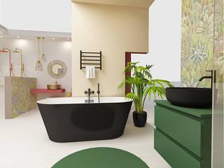Smile Bath S.A. Baños de estilo moderno Verde