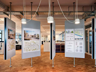 Edificios de oficinas de estilo  por HDR GmbH