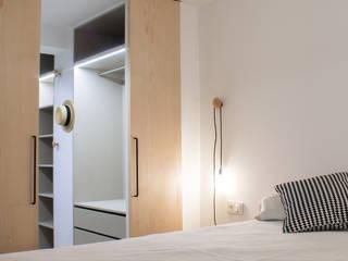 15oo2 puntodefuga ESTUDIO Dormitorios de estilo minimalista