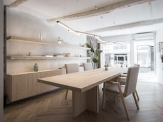 Minimalst style study/office by puntodefuga ESTUDIO Minimalist
