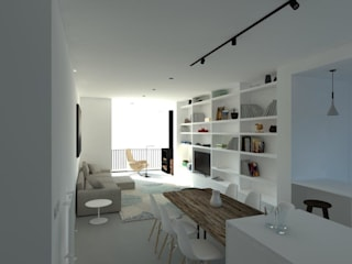 Living room by Polistudio A.E.S., Modern