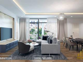 Thiết kế nội thất chung cư Imperia Garden - chị Phương bởi Thiết kế - Nội thất - Dominer