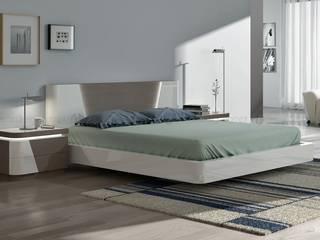 Decordesign Interiores BedroomBeds & headboards Chipboard White