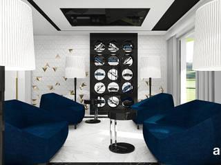 ARTDESIGN architektura wnętrz Hoteles de estilo moderno