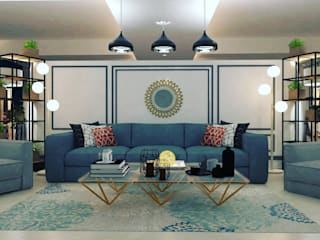 Maayish Architects Living roomSofas & armchairs Grey