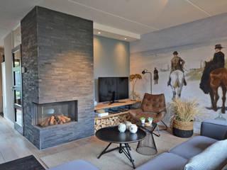 Interieurontwerp woonkamer Oldenzaal van Huyze de Tulp interieurdesign Industrieel