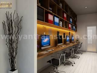 360 Degree Interactive Panoramic Virtual Reality Companies Developed by Architectural Visualisation Studio, Los Angeles - USA Modern Çalışma Odası Yantram Architectural Design Studio Modern