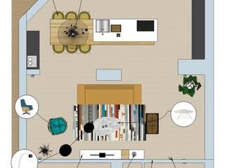 interieurontwerp nieuwbouw appartement Rhoon van Huyze de Tulp interieurdesign