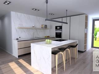 Cozinha: Armários de cozinha  por Alquimia ,Moderno