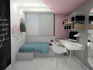 Girls Bedroom by BICHO arquitectura, Modern