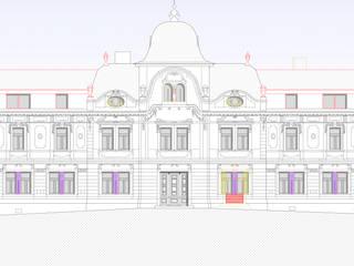 Architekturperlen polieren - das ehemalige Hotel wurde zum Wohnhaus von archipur Architekten aus Wien Klassisch