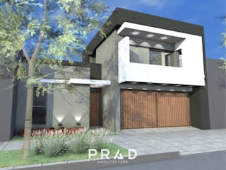 Vivienda Urbana D-R de PRAD Arquitectura Moderno