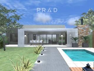Vivienda de Fin de Semana L.P de PRAD Arquitectura Moderno