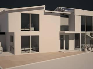 RESIDENCIA BUGAMBILIAS Casas modernas de henekenarq Moderno