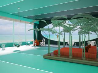 Энергия океанской волны.: Гостиная в . Автор – Андреевы.РФ