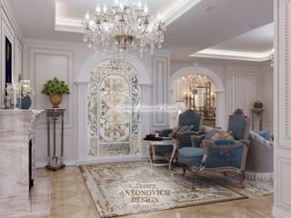 Гостиная в неоклассическом стиле: Гостиная в . Автор – Студия Luxury Antonovich Design