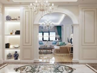 холл: Коридор и прихожая в . Автор – Студия Luxury Antonovich Design
