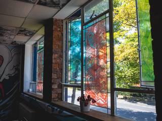 Our Studio Modern windows & doors by The Binary Box Modern