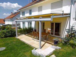 Terrassenüberdachung:  Terrasse von Markisen Zanker im Raum Stuttgart