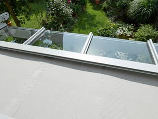 Terrassenüberdachung:  Terrasse von Markisen Zanker im Raum Stuttgart,Modern
