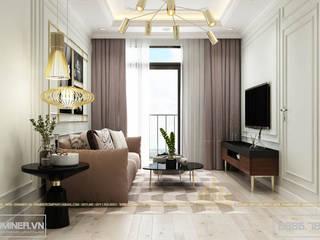Thiết kế nội thất chung cư An Bình City - anh Huy bởi Thiết kế - Nội thất - Dominer
