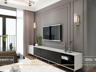 Thiết kế nội thất chung cư D'Capitale - Anh Đức bởi Thiết kế - Nội thất - Dominer