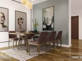 Thiết kế nội thất chung cư An Bình City - anh Hoàng bởi Thiết kế - Nội thất - Dominer