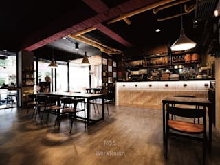 桃園 MOVE:  餐廳 by NO5WorkRoom