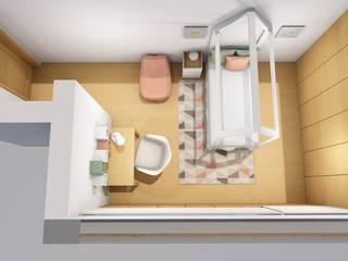 Decoração de interiores de Quarto de Menina em Vizela por R&U ATELIER LDA