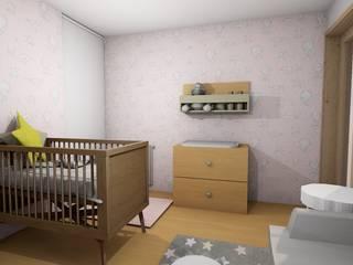 Decoração de interiores de quarto de Bebé por R&U ATELIER LDA