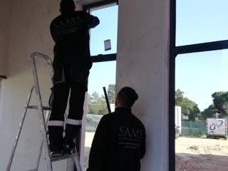 Bombeiros Mistos da Amora Janelas e portas industriais por SAM'S - Soluções em alumínio e PVC Industrial