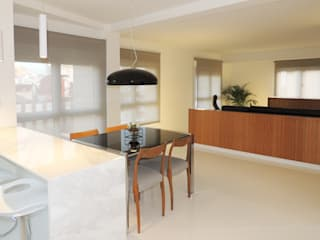 MG arquitectos Modern dining room